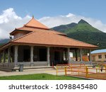 house type of temple near...   Shutterstock . vector #1098845480