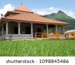 house type of temple near...   Shutterstock . vector #1098845486