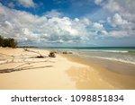 indian ocean coastline and... | Shutterstock . vector #1098851834