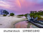 dramatic storm sky above indian ... | Shutterstock . vector #1098851840