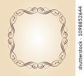 vector retro frames .vector... | Shutterstock .eps vector #1098852644