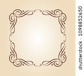 vector retro frames .vector... | Shutterstock .eps vector #1098852650