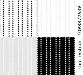 set of 4 black and white... | Shutterstock .eps vector #1098872639