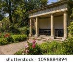 gazebo garden summer house | Shutterstock . vector #1098884894