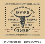 original handmade alphabet....   Shutterstock .eps vector #1098909983