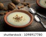 phirni    sweet rice pudding  ...   Shutterstock . vector #1098917780