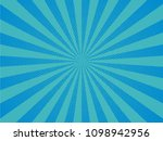 blue radial lines. pop art... | Shutterstock .eps vector #1098942956