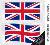 vector image of england flags   ...   Shutterstock .eps vector #1098945050