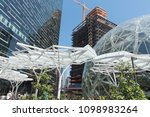 seattle  washington circa may... | Shutterstock . vector #1098983264