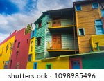 buenos aires  argentina.... | Shutterstock . vector #1098985496