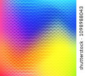 colorful abstract gradient mesh ... | Shutterstock .eps vector #1098988043