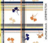 light summer seamless pattern... | Shutterstock .eps vector #1098993704