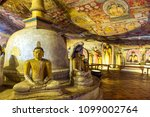 the golden temple of dambulla... | Shutterstock . vector #1099002764