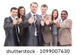 successful business team with... | Shutterstock . vector #1099007630