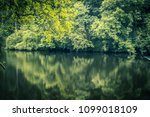 river clyde and the forest ... | Shutterstock . vector #1099018109