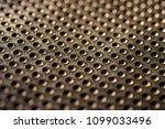 black golden dotted texturised... | Shutterstock . vector #1099033496