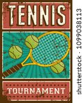 Tennis Sport Retro Pop Art...