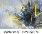 3d rendering of digital... | Shutterstock . vector #1099050773