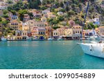 view of beautiful bay with... | Shutterstock . vector #1099054889