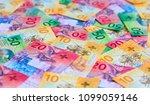 collection of the new swiss... | Shutterstock . vector #1099059146