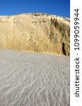 coast at kata beach   kos ... | Shutterstock . vector #1099059944