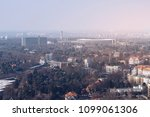panorama of berlin with olympia ... | Shutterstock . vector #1099061306