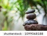 zen  gluten stone  spa concept... | Shutterstock . vector #1099068188
