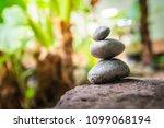 zen  gluten stone  spa concept... | Shutterstock . vector #1099068194
