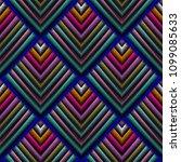 tapestry 3d vector seamless... | Shutterstock .eps vector #1099085633