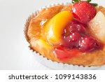 close up danish on table | Shutterstock . vector #1099143836