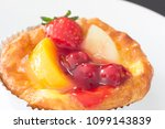 close up danish on table | Shutterstock . vector #1099143839