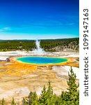 Yellowstone National Park. ...