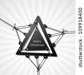merry christmas  eps10 | Shutterstock .eps vector #109918400