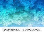 light blue  green vector... | Shutterstock .eps vector #1099200938