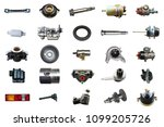 collage parts for auto isolated ... | Shutterstock . vector #1099205726