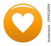 dull heart icon. simple...   Shutterstock .eps vector #1099218509