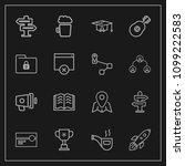 modern  simple vector icon set...   Shutterstock .eps vector #1099222583