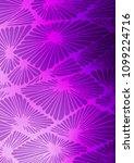 light purple abstract doodle... | Shutterstock . vector #1099224716