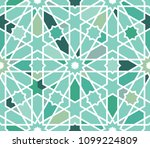 classical islamic seamless... | Shutterstock .eps vector #1099224809
