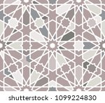 classical islamic seamless... | Shutterstock .eps vector #1099224830