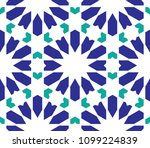 classical islamic seamless... | Shutterstock .eps vector #1099224839