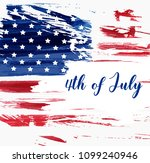 usa independence day background.... | Shutterstock .eps vector #1099240946