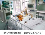 at the intensive care unit.... | Shutterstock . vector #1099257143