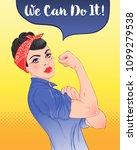 we can do it  design inspired... | Shutterstock .eps vector #1099279538