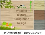 wooden texture   panel and the... | Shutterstock .eps vector #1099281494