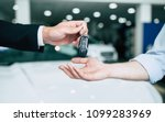 take the keys. close up photo... | Shutterstock . vector #1099283969