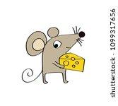 cartoon hand drawn character... | Shutterstock .eps vector #1099317656