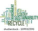 recycle green environment... | Shutterstock .eps vector #109932590