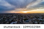 the perfect storm in the evening | Shutterstock . vector #1099332584