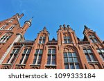 city center of bruges   belgium | Shutterstock . vector #1099333184